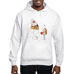 Ice Cream Couples Gift Hooded Sweatshirt