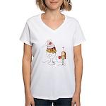 Ice Cream Couples Gift Women's V-Neck T-Shirt