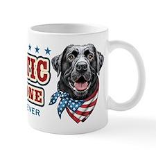 Patriotic - Black Lab Mug