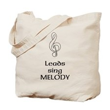Leads sing MELODY Tote Bag
