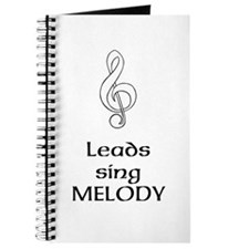 Leads sing MELODY Journal