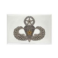 Combat Parachutist 1st awd Master Rectangle Magnet
