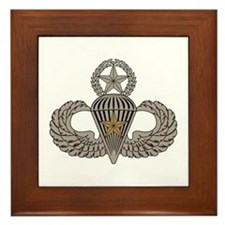 Combat Parachutist 1st awd Master Framed Tile