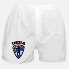 cricket batsman India Boxer Shorts