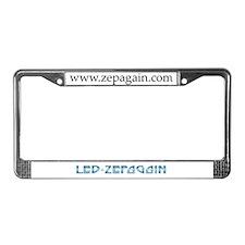 Led Zepagain License Plate Frame