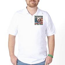 Patriotic - Pit Bull T-Shirt