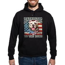 Patriotic - Pit Bull Hoody