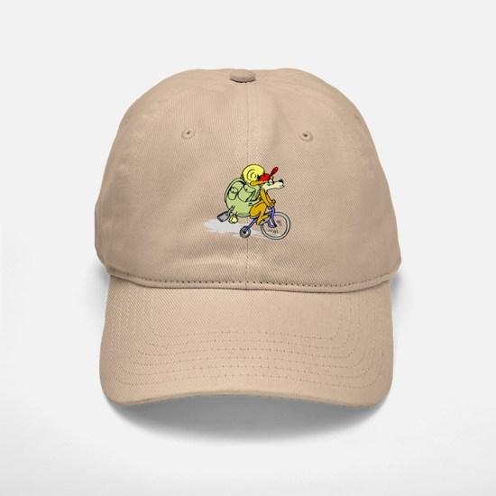 Mountain Bike Dog Baseball Baseball Cap