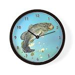 Large Mouth Bass Wall Clock