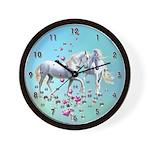 Unicorn Reunion Wall Clock