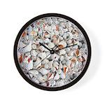Conch Shells Wall Clock