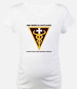 DUI - 3rd Medical Command with text Shirt