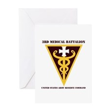DUI - 3rd Medical Command with text Greeting Card