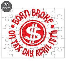 April 15 Birthday Tax Day Puzzle