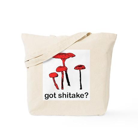 got shitake? Tote Bag