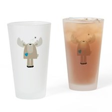 Ryder, The Moose Drinking Glass