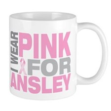 I wear pink for Ansley Mug