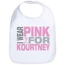 I wear pink for Kourtney Bib