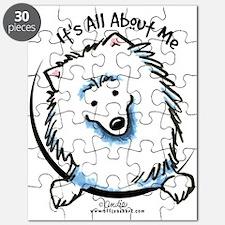 American Eskimo Dog Funny Puzzle