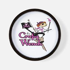 Crafty Wench Wall Clock