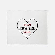 Team Edward Forever Throw Blanket