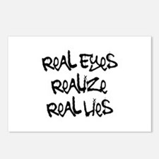 Real Eyes Postcards (Package of 8)