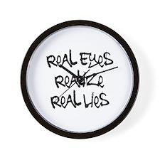 Real Eyes Wall Clock