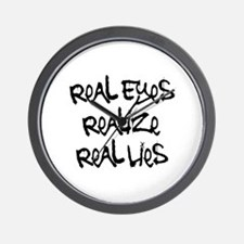 Real Eyes Wall Clock