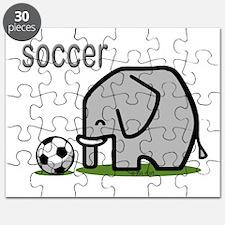 Soccer Elephant (2) Puzzle