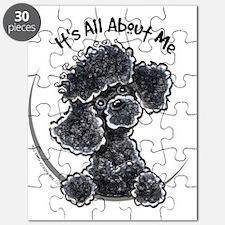 Black Poodle Lover Puzzle