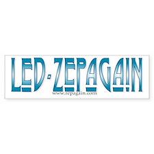 Led Zepagain Bumper Bumper Sticker