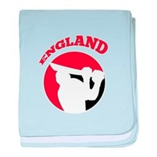 cricket batsman england baby blanket