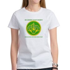 HQ and HQ Troop, 3rd ACR with Text Tee