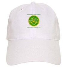 HQ and HQ Troop, 3rd ACR with Text Baseball Cap