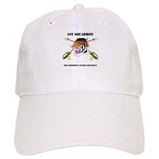 DUI - 1st Squadron - 3rd ACR WITH TEXT Baseball Cap