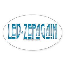 Led Zepagain Oval Decal