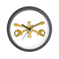 DUI - 2nd Squadron - 3rd ACR Wall Clock