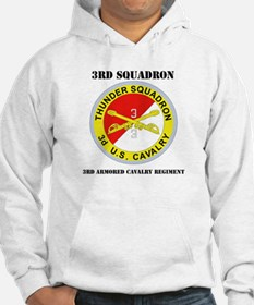 DUI - 3rd Sqdrn - 3rd ACR with Text Hoodie