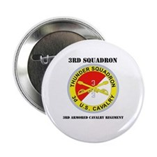 """DUI - 3rd Sqdrn - 3rd ACR with Text 2.25"""" Button"""