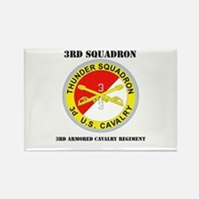 DUI - 3rd Sqdrn - 3rd ACR with Text Rectangle Magn