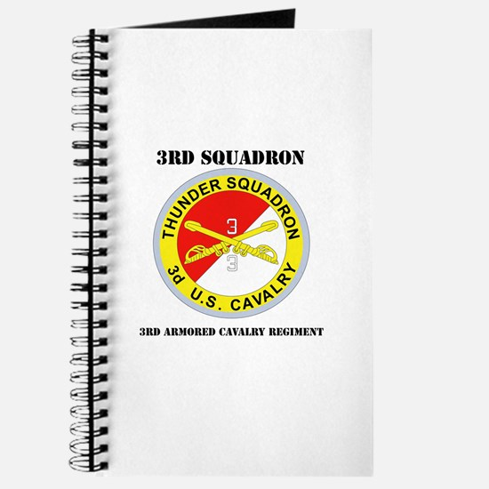 DUI - 3rd Sqdrn - 3rd ACR with Text Journal