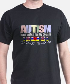 Autism vs my cousin T-Shirt