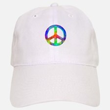 Multicolored Peace Sign Baseball Baseball Cap