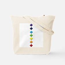 Rainbow Chakra Tote Bag