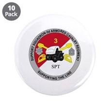 """DUI - Support Squadron 3rd ACR 3.5"""" Button (10 pac"""