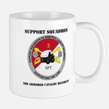 DUI - Support Squadron 3rd ACR with Text Mug