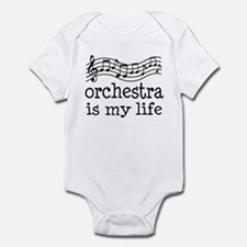 Orchestra is My Life Music Gift Infant Bodysuit