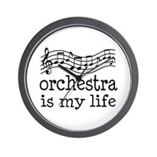 Orchestra is My Life Music Gift Wall Clock