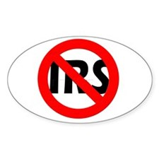 Abolish the IRS! Decal