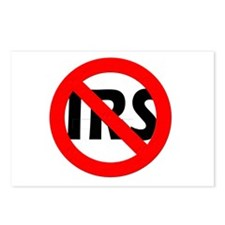 Abolish the IRS! Postcards (Package of 8)